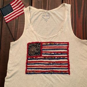 Lucky Brand American Tank Top sz. Medium